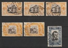 MiNr. 304, 305, 307  Ecuador / 1930, 1. Aug. 100 Jahre Republik - Ecuador