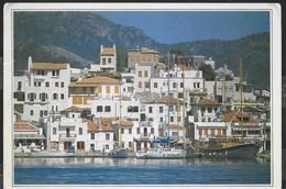 TURCHIA - MARMARIS - LA CITTA' VECCHIA - FORMATO GRANDE 17X13 - VIAGGIATA 1992 FRANCOBOLLO ASPORTATO - Turchia
