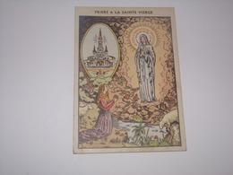 Image Religieuse.Prière à La Sainte Vierge.Voir Verso. - Religion & Esotérisme