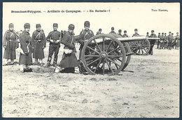 Brasschaet Polygone - Artillerie De Campagne - En Batterie - Manoeuvres