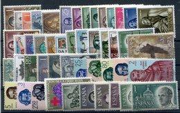 Año  1963  ( Sin Sellos De Escudos ) - Spain