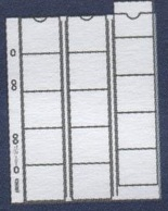 Paquet De 10 Feuilles Transparentes Avec Intercallaires Rouges Pour Monnaies Diam. 48 Mm Pour Reliure 4 Anneaux à - 50 % - Matériel