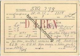 QSL - QTH - D4RKN - 1932 - Amateurfunk