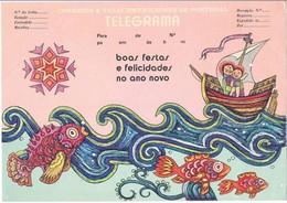 Portugal, Telegrama, Não Circulado - Télégraphes