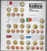 Paquet De 10 Feuilles Transparentes Avec Intercallaires Pour Euros KOBRA 4 Anneaux à - 50 % - Matériel