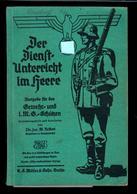 """Militaria 2. Weltkrieg Buch """"Der Dienstunterricht Im Heere"""" - Deutsch"""