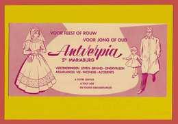 BUVARD / BLOTTER /Antverpia Assurance Vie. Belle Marié - Banque & Assurance