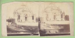 DREUX Vers 1860 - 1870 : La Chapelle Royale. Photo Stéréoscopique. 2 Scans - Photos Stéréoscopiques
