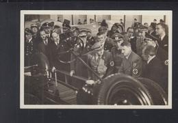 Dt. Reich AK Hitler Internationale Automobil - U. Motorrad Ausstellung 1939 - Historische Figuren