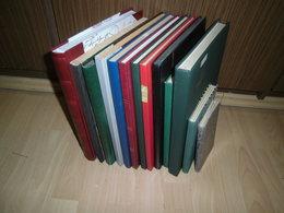Sammlung Posten Alle Welt Hauptwert Deutschland, 13 Alben (80087) - Sammlungen (im Alben)