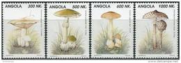 Angola 1993. Michel #945/48 MNH/Luxe. Mushrooms (Ts37) - Angola