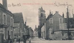 (CPA 89) COULANGES-SUR-YONNE  /  La Rue Principale - - Coulanges Sur Yonne