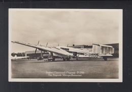 Dt. Reich AK Junkers Ganzmetall Flugzeug D 2500 - 1919-1938: Fra Le Due Guerre
