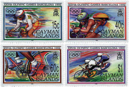 Ref. 27931 * NEW *  - CAYMAN Islands . 1992. GAMES OF THE XXV OLYMPIAD. BARCELONA 1992. 25 JUEGOS OLIMPICOS VERANO BARCE - Caimán (Islas)