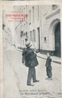 H194 - 75 - PARIS - Petits Métiers - Le Marchand D'habits - Pub Vanille Du Mexique Parboma - Petits Métiers à Paris