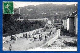 St Amé  -  Sortie Des Ateliers - France