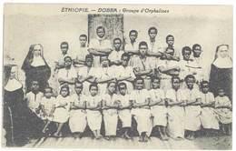 Cpa Ethiopie - Dobba - Groupe D'Orphelines     ( S. 3353 ) - Ethiopie