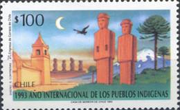 Ref. 32816 * NEW *  - CHILE . 1993. INTERNATIONAL YEAR OF NATIVE PEOPLES. A�O INTERNACIONAL DE LOS PUEBLOS INDIGENAS - Chile