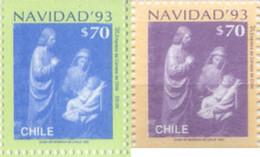 Ref. 303532 * NEW *  - CHILE . 1993. CHRISTMAS. NAVIDAD - Chile