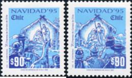 Ref. 317274 * NEW *  - CHILE . 1995. CHRISTMAS. NAVIDAD - Chile