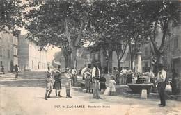 CPA St ZACHARIE Route De Nans - Saint-Zacharie