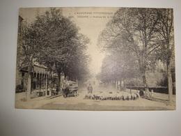 63 Issoire Avenue De La Gare  Berger Avec Son Troupeau De Moutons - Issoire