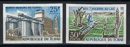 République Du Tchad, Non Dentelé, N° 144 Et 145 ** TB - Tsjaad (1960-...)