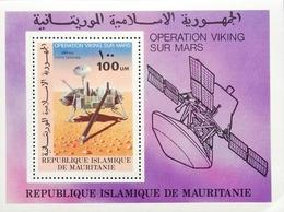 Mauritania 1977 VIking  S/S - Mauritania (1960-...)