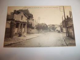 6djm - CPA - MAINVILLIERS - Vue Prise Rue De La République - [28] Eure Et Loir - - Autres Communes