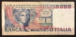 50000 LIRE Volto Di Donna 20 06 1977  LOTTO 1470 - [ 2] 1946-… : Repubblica