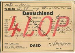 QSL - QTH - D4LOP - 1931 - Amateurfunk