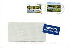 Auslands - Brief Von Briefzentrum 79 Mit 2 X 45 Cent Gartenteich Dessau Wörlitz 2018 - BRD
