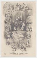 Nostra Signora Del Rosario Di Pompei Pregate Per Noi #Cartolina #Santino - Pompei