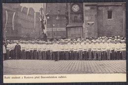 Czech Republic 1912 Prague (Praha) - Vsesokolsky Slet, Postcard - Tsjechië