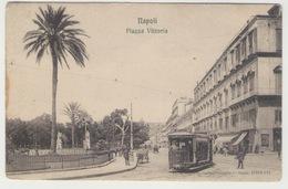 Napoli Piazza Vittoria Edizione Ragozzino #Cartolina #Paesaggi - Napoli (Naples)