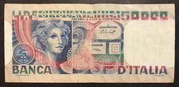 50000 LIRE Volto Di Donna 23 10 1978 Scritta Al R. LOTTO 1487 - [ 2] 1946-… : République
