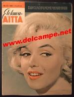 FINLAND Finnish Magazine ELOKUVA-AITTA # 12 - 1960 Marilyn Monroe On The Cover - Books, Magazines, Comics