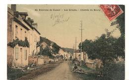 Les Grivats - Cusset -  L'Entree Du Bourg -  42  -  Carte Toilee Et Tramée - CPA ° - Frankreich