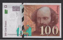 France 100 Francs Cézanne - Neuf - 1998 - Fayette 74-2 - 1992-2000 Dernière Gamme