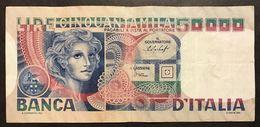 50000 LIRE Volto Di Donna 23 10 1978 LOTTO 173 - [ 2] 1946-… : République