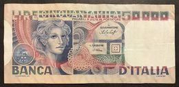 50000 LIRE Volto Di Donna 20 06 1977  LOTTO 212 - [ 2] 1946-… : Repubblica