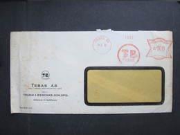 Brief Praha 88 TEBAS 24.5.1939 Mitläufer B.u.M.!!!  Frankotype Postfreistempel // L0550 - Briefe U. Dokumente