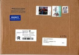 Auslands - Einschreibe - Brief Von Briefzentrum 20 Mit 977 Cent Mischfrankatur 2018 - BRD