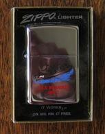 BRIQUET ZIPPO LIGHTER - U.S.S. MILWAUKEE - AOR-2 (3) - Zippo