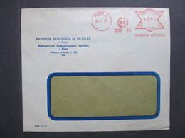 Brief Praha 1 Riunione Adriatica 24.4.1939 Mitläufer B.u.M.!!!  Frankotype Postfreistempel // L0557 - Briefe U. Dokumente