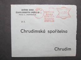 Brief Praha 1 Ustredni Banka 24.6.1939 Mitläufer B.u.M.!!!  Frankotype Postfreistempel // L0559 - Briefe U. Dokumente
