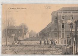 Manage - Route De Nivelles - Voyagé 1921 - Manage
