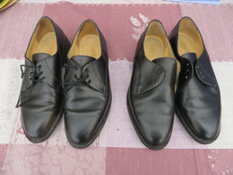 Chaussures Basses En Cuir Véritable - Cérémonie Gendarmerie - Police & Gendarmerie
