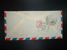 LETTRE TP SAMARRA 40 F OBL.8 DEC 47 MOSUL - Iraq