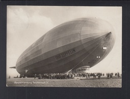 Dt. Reich AK Zeppelin Besuch Landung Brunn Reichenbach V. 1930 - Airships